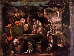 Adoration of the Magi c. 1582