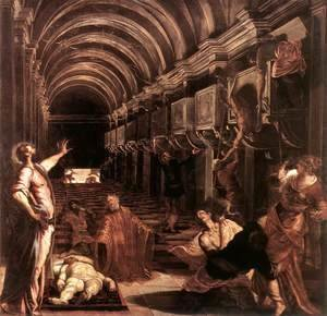 Jacopo Tintoretto (Robusti) - The Discovery of St Mark's Body 1562-66