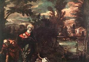 Flight into Egypt 1582-87