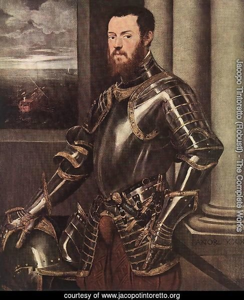 Man in Armour c. 1550