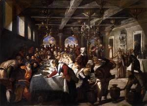 Jacopo Tintoretto (Robusti) - Marriage at Cana
