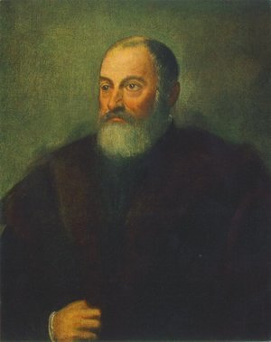 Jacopo Tintoretto (Robusti) - Portrait of a Man c. 1560