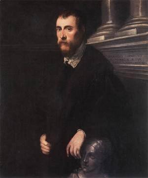 Jacopo Tintoretto (Robusti) - Portrait of Giovanni Paolo Cornaro 1561