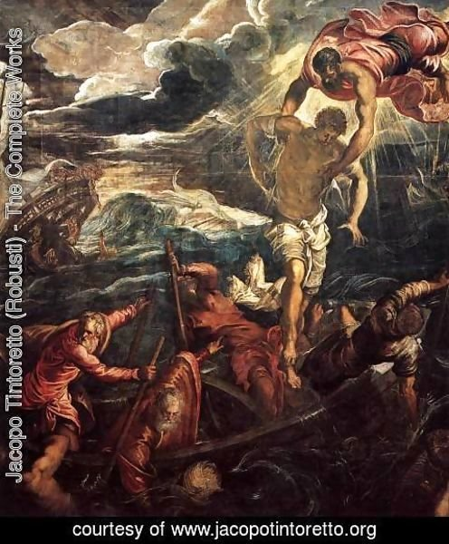 Jacopo Tintoretto (Robusti) - St. Mark Saving a Saracen from Shipwreck 1562
