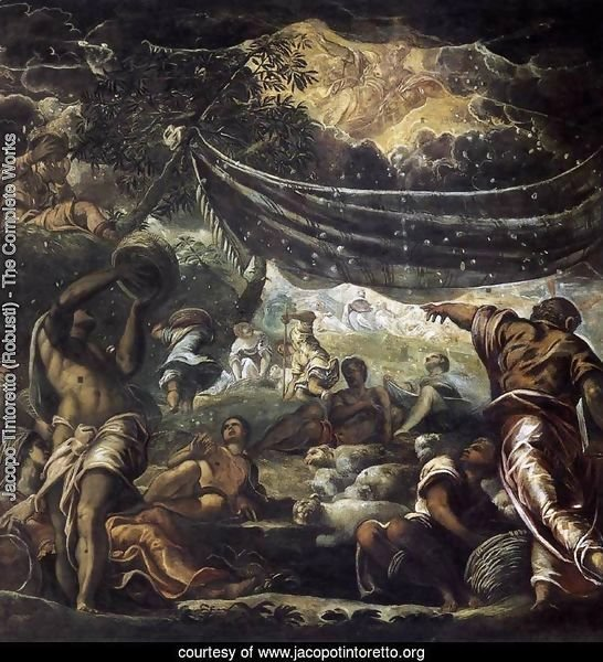 The Miracle of Manna 1577