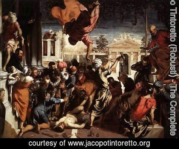 Jacopo Tintoretto (Robusti) - The Miracle of St Mark Freeing the Slave 1548