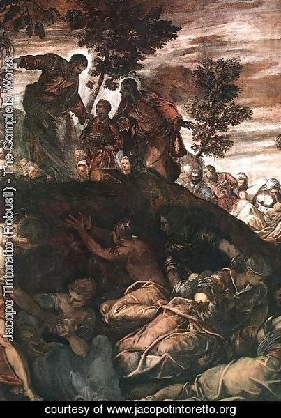 Jacopo Tintoretto (Robusti) - The Miracle of the Loaves and Fishes 1578-81