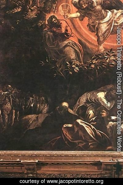 Jacopo Tintoretto (Robusti) - The Prayer in the Garden 1578-81