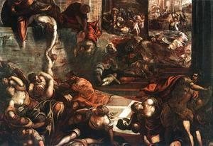 Jacopo Tintoretto (Robusti) - The Slaughter of the Innocents 1582-87