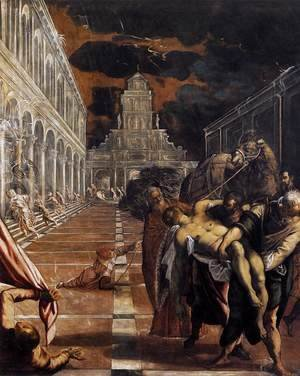 The Stealing of the Dead Body of St Mark 1562-66