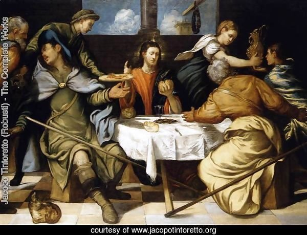 The Supper at Emmaus 1542-43