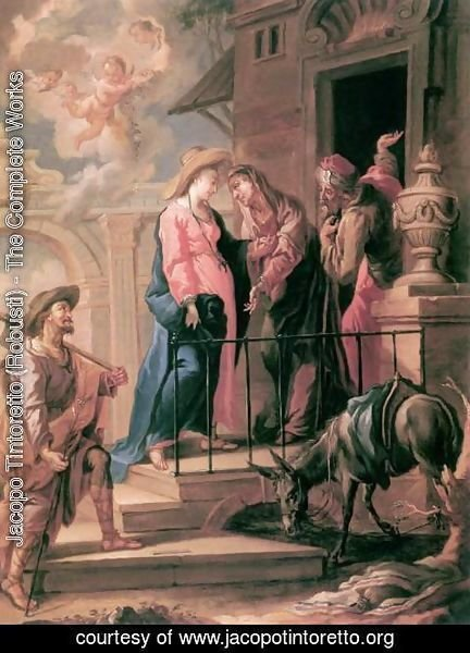 Jacopo Tintoretto (Robusti) - The Visitation