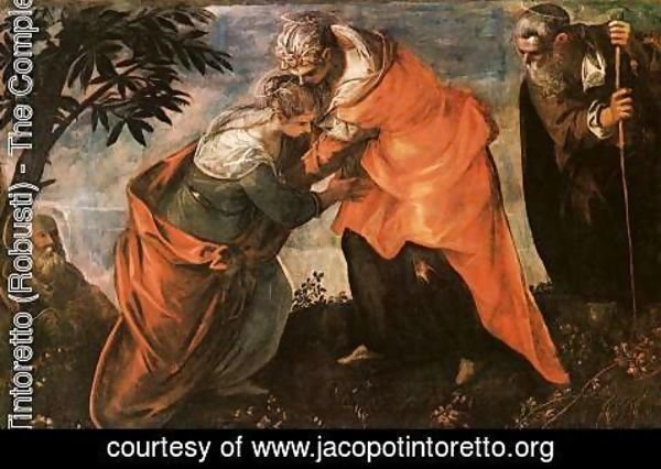 Jacopo Tintoretto (Robusti) - The Visitation c. 1588