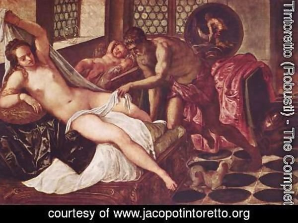 Jacopo Tintoretto (Robusti) - Vulcanus Takes Mars and Venus Unawares