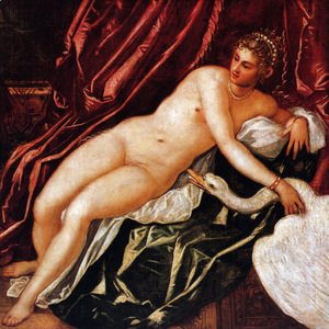 Jacopo Tintoretto (Robusti) - Leda and the Swan