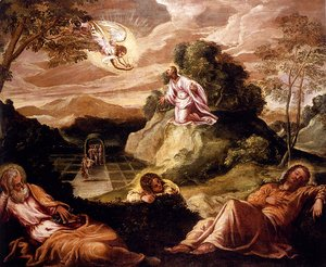 Jacopo Tintoretto (Robusti) - Agony In The Garden