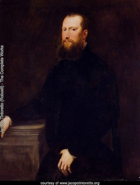 Portrait Of A Bearded Venetian Nobleman