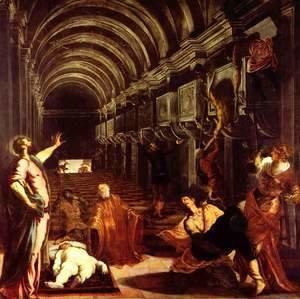 Jacopo Tintoretto (Robusti) - Finding of the Body of St. Mark (Ritrovamento del corpo di san Marco)