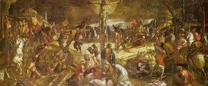 Jacopo Tintoretto (Robusti) - Crucifixion (Crocifissione)