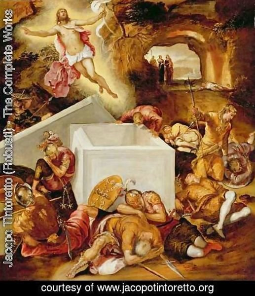 Jacopo Tintoretto (Robusti) - The Resurrection of Christ