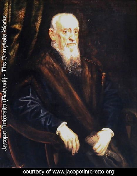 Portrait of an Elderly Gentleman, c.1575