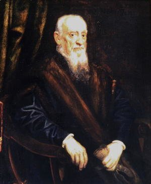 Jacopo Tintoretto (Robusti) - Portrait of an Elderly Gentleman, c.1575