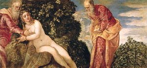 Jacopo Tintoretto (Robusti) - Susanna and the Elders