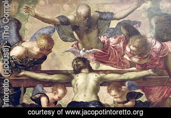 Jacopo Tintoretto (Robusti) - The Trinity