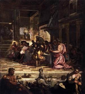 Jacopo Tintoretto (Robusti) - The Last Supper