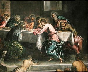 Jacopo Tintoretto (Robusti) - Last Supper