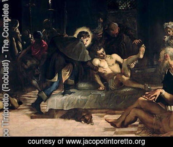 Jacopo Tintoretto (Robusti) - Saint Roch curing the Plague, c.1560