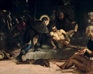 Saint Roch curing the Plague, c.1560