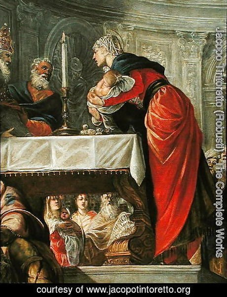Jacopo Tintoretto (Robusti) - Presentation of Christ at the Temple