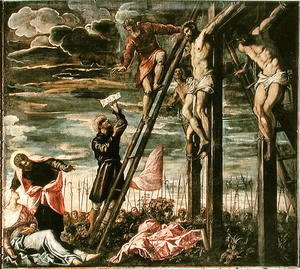 Jacopo Tintoretto (Robusti) - Crucifixion