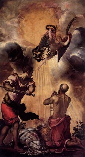 Jacopo Tintoretto (Robusti) - The Execution of St Paul
