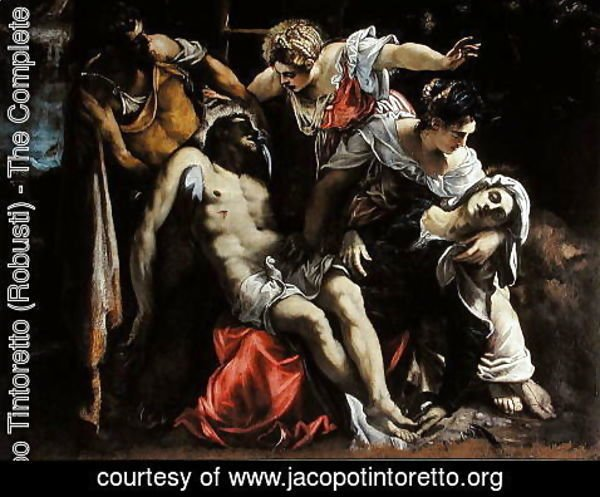 Jacopo Tintoretto (Robusti) - Deposition from the Cross