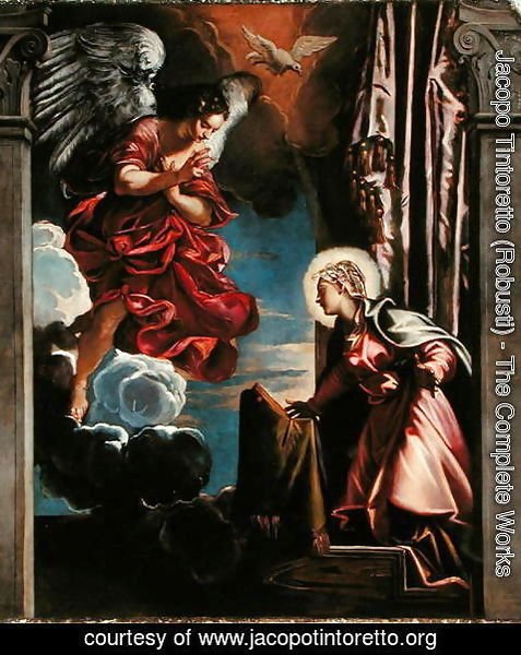 Jacopo Tintoretto (Robusti) - The Annunciation