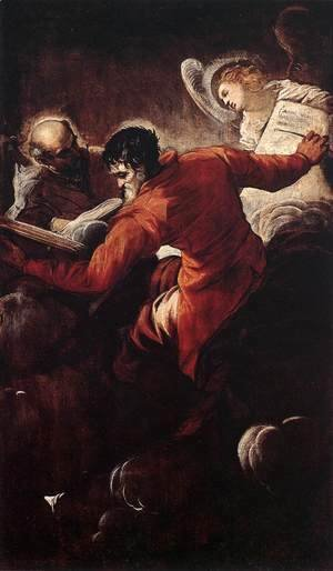 Jacopo Tintoretto (Robusti) - St. Luke and St. Matthew