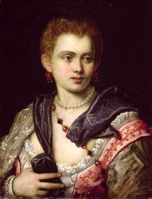 Jacopo Tintoretto (Robusti) - Portrait of a Lady