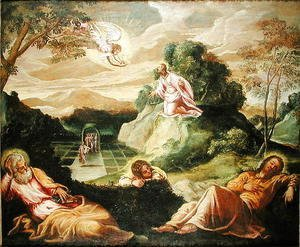 Jacopo Tintoretto (Robusti) - The Agony in the Garden