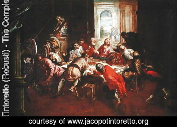 Jacopo Tintoretto (Robusti) - The Last Supper 2