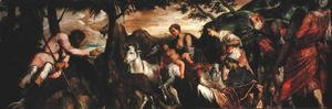 Jacopo Tintoretto (Robusti) - St. Roch and the Beasts of the Field, 1567