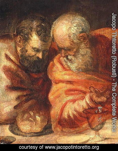 Jacopo Tintoretto (Robusti) - Two Prophets