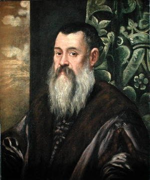 Jacopo Tintoretto (Robusti) - Portrait of a Venetian Senator