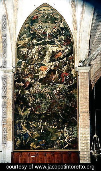 Jacopo Tintoretto (Robusti) - The Last Judgement, before 1562