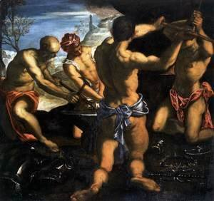 Jacopo Tintoretto (Robusti) - Vulcans Forge