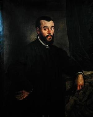 Portrait of Andreas Vesalius 1514-64