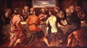 Jacopo Tintoretto (Robusti) - The Last Supper, mid 1540s