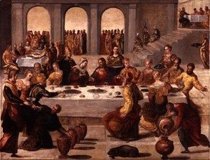 The Wedding Feast at Cana, c.1545