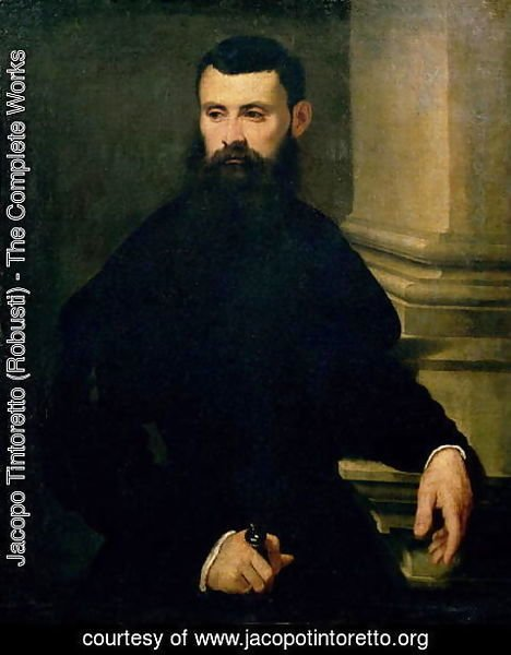 Jacopo Tintoretto (Robusti) - Portrait of a Man